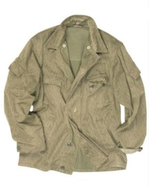 East German Armed Forces Camo Summer Bdu Jacket