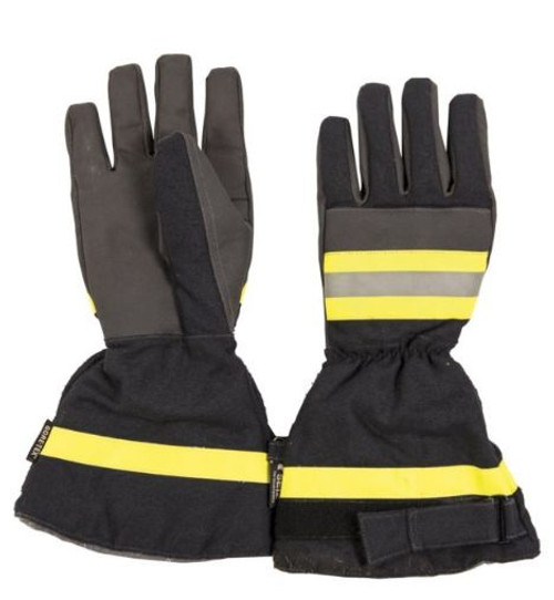 German Armed Forces Fireman's Dark Blue Gore-Tex Gloves