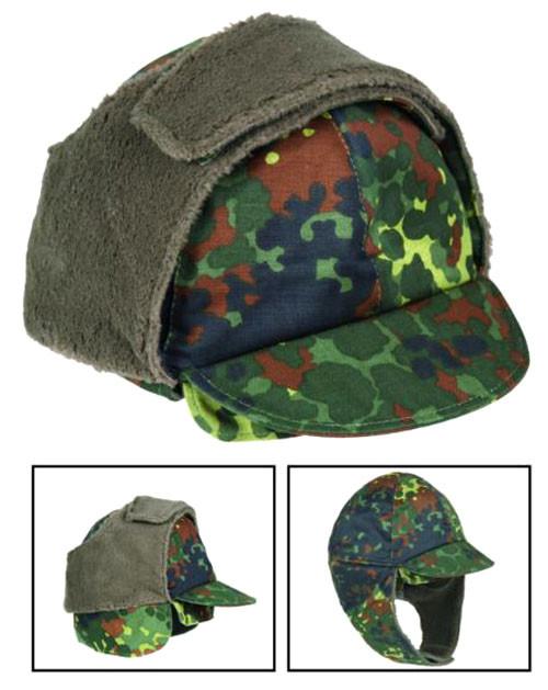 German Armed Forces Flectar Camo Winter Cap