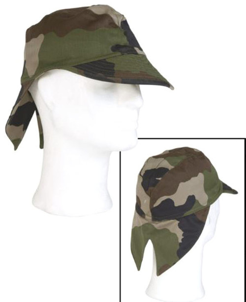 French Orig CCE Camo Field Cap w/ Flap