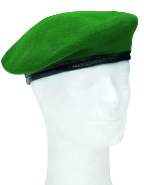 German Armed Forces Green Wool Beret