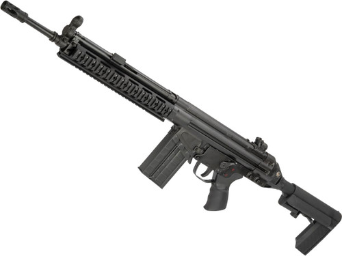 LCT LC-3 AR Full Size Steel Airsoft AEG with RIS Handguard and Adjustable Stock