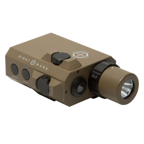 Sightmark LoPro Mini Combo Flashlight and Green Laser Sight - Dark Earth
