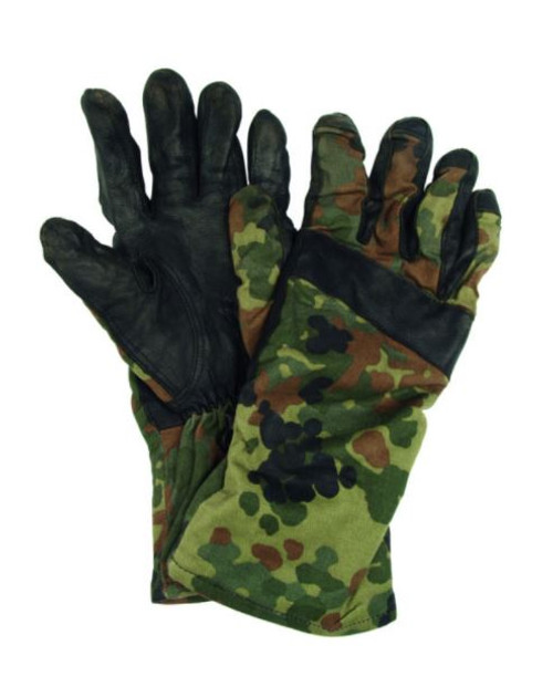 German Armed Forces Flectar Camo Summer Gloves