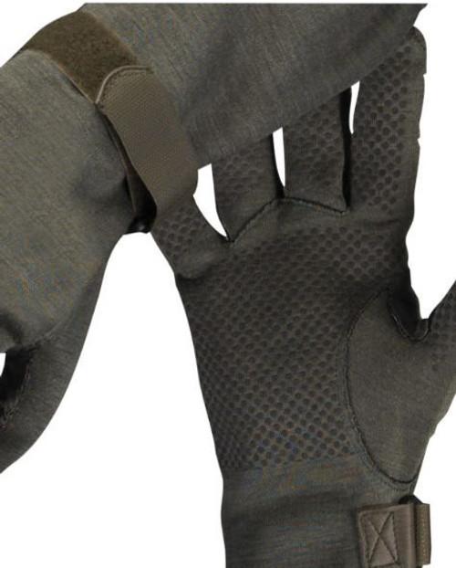 German Od Nomex Pilot Gloves W/Gripper