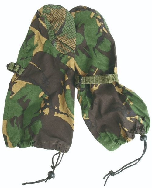British Armed Forces Camo Gore-Tex Mittens