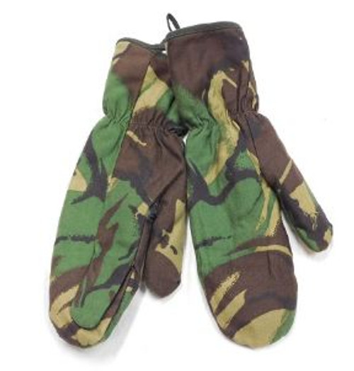 British Armed Forces Camo Lined Mittens