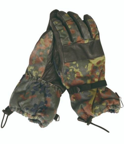 German Armed Forces Flectar Camo Winter Gloves