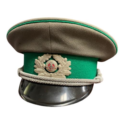 East German Military Visor - Grey/Green