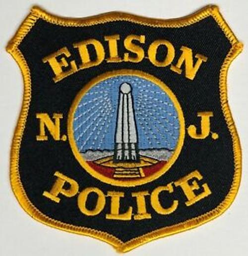 Edison NJ Police Patch