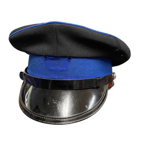 Vintage Military Cap - Blue/Black