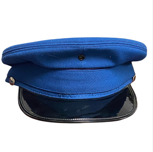 Vintage Military Cap - Blue