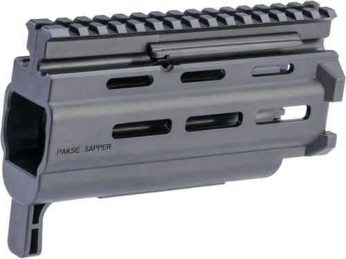 "HB Industries Pakse Sapper 6.4"" M-LOK Handguard For CZ Scorpion EVO 3 Pistols and Rifles"