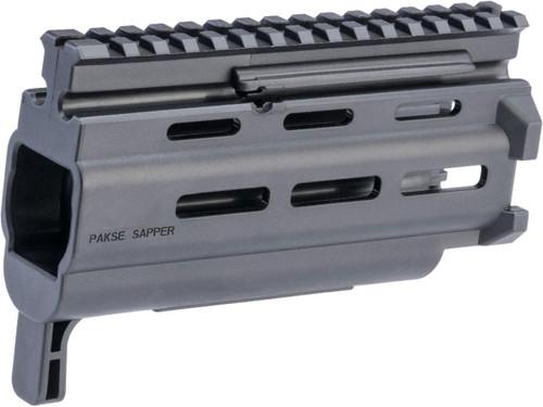 "HB Industries Pakse Sapper 6.4"" M-LOK Handguard For CZ Scorpion EVO 3 Pistols and Rifles"