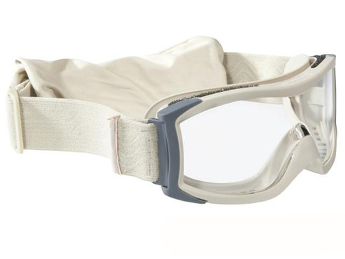 Bolle Safety X1000 Ballistic Tactical Goggles (Color: Clear Lens / Sand)