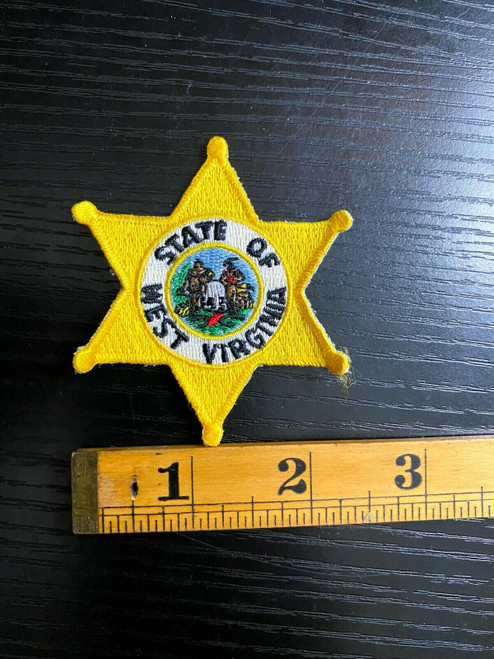 State of West Virginia Star Police Patch
