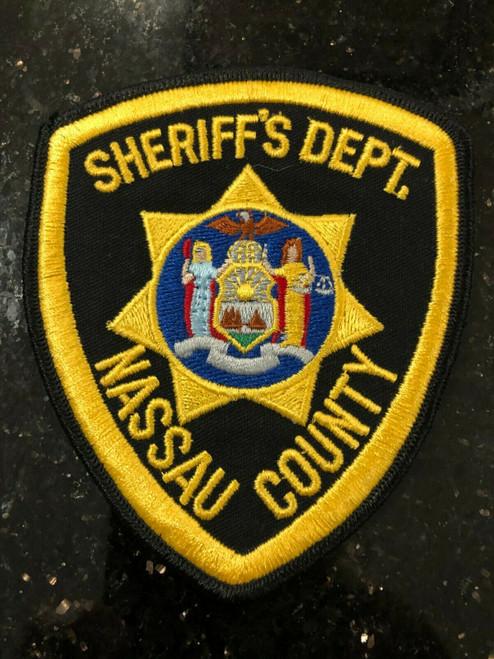 Nassau County Sheriff's Patch NY Police Patch