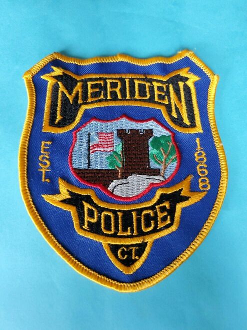 Meriden CT Police Patch