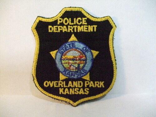 Overland Park KS Police Patch