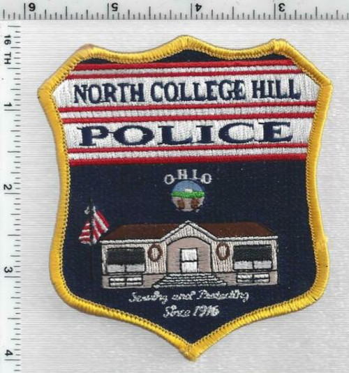 North College Hill OH Police Patch
