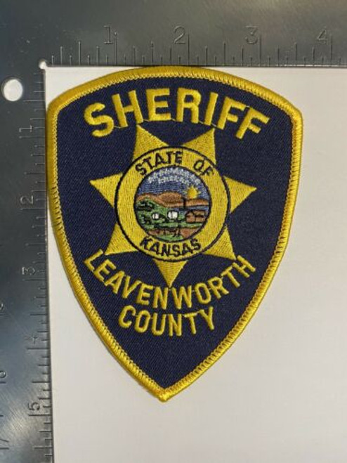 Leavenworth County KS Police Patch