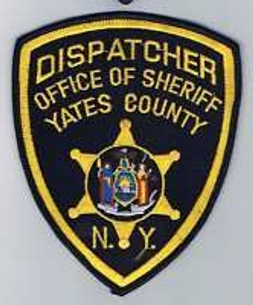 Dispatcher Office of Sheriff Yates County NY Police Patch