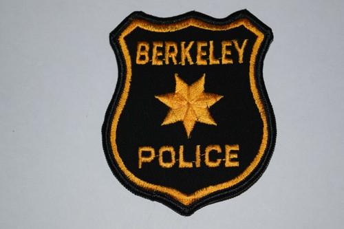 Berkeley CA Police Patch
