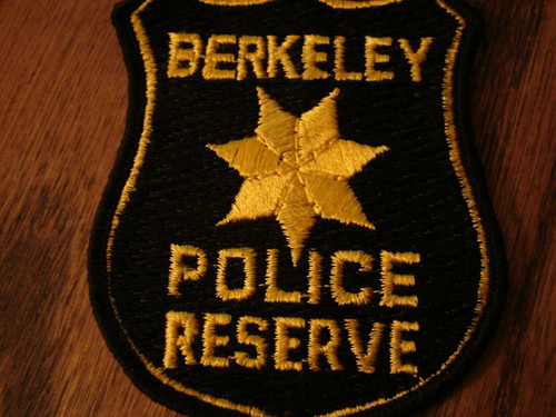 Berkeley Reserve CA Police Patch