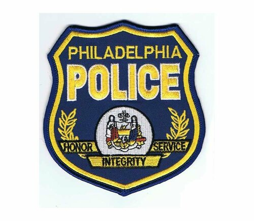 Philadelphia PA Blue Shield Police Patch