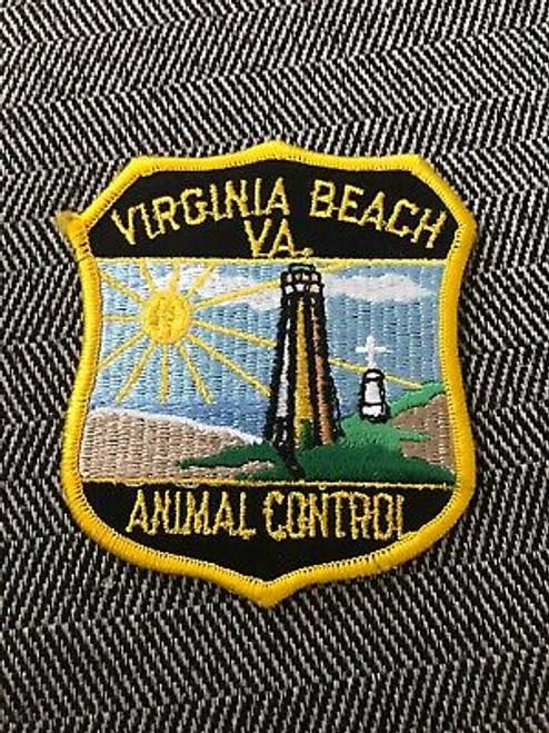 Animal Control Virginia Beach VA Police Patch