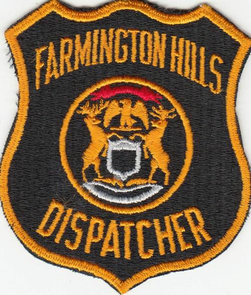 Farmington Hills MI Police Patch