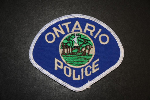 Ontario CA Police Patch