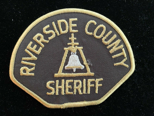 Riverside County CA Police Patch