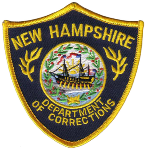 New Hampshire Dept. of Corrections Police Patch