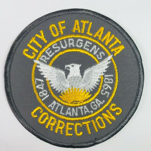 Atlanta GA Dept. of Corrections Police Patch