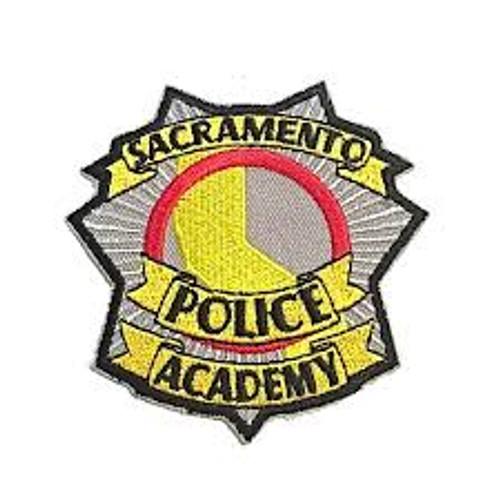 Sacramento CA Police Academy Patch