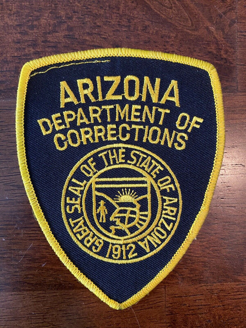 Department of Correction AZ Police Patch