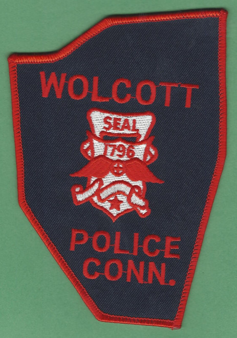 Wolcott CT Police Patch