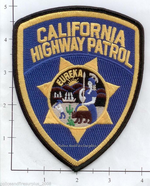 California Highway Patrol CA Police Patch