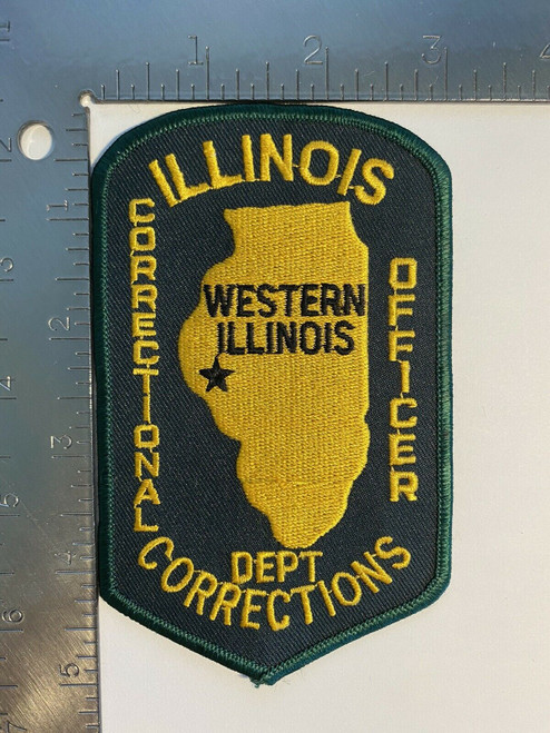 Department Corrections Correctional Officer IL Police Patch