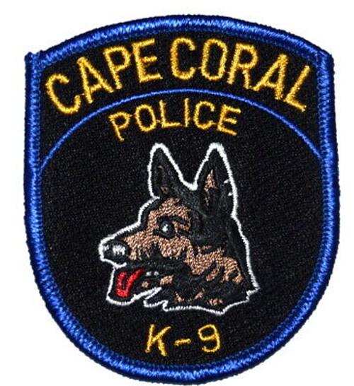 Cape Coral K9 FL Police Patch