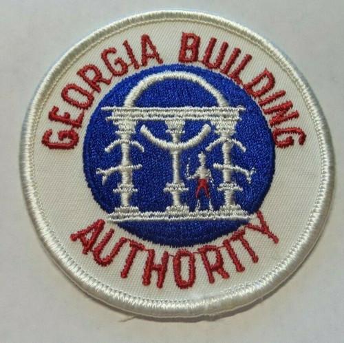 Vintage Georgia Building Authority Patch