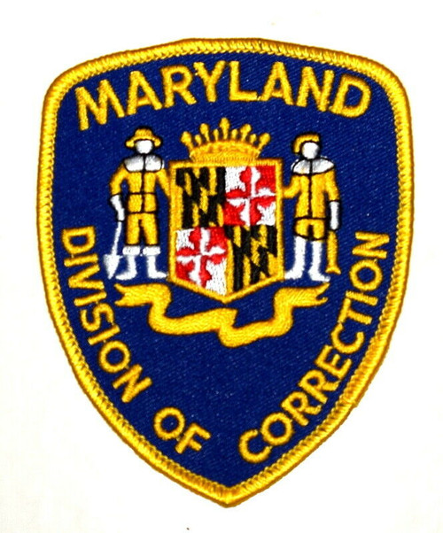 Division of Correction MD Police Patch