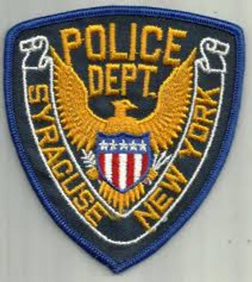 Syracuse NY Police Patch