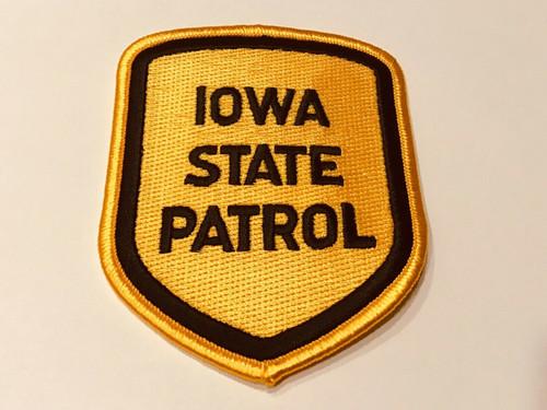 Iowa State Patrol Police Patch