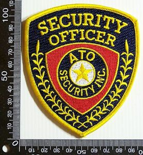 Vintage ATO Security Inc USA Patch