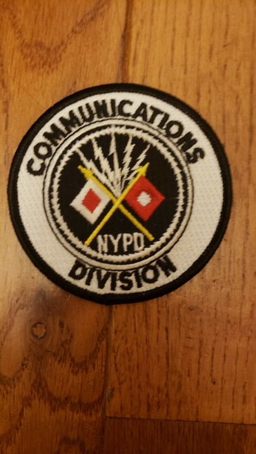 NYPD Communications Division Police Patch