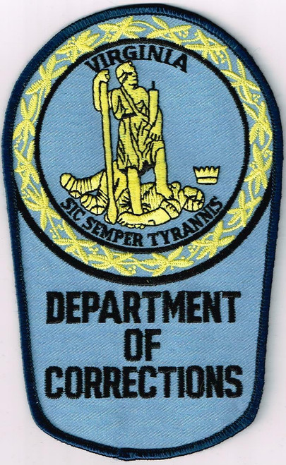 Dept. of Corrections VA Police Patch