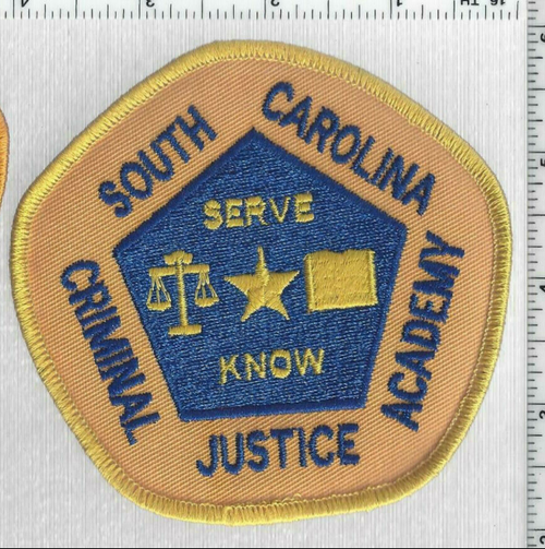Criminal Justice Academy SC Police Patch