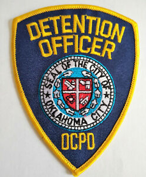 Detention Officer OCPD Police Patch